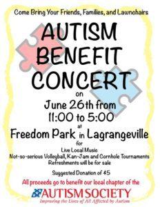 autism benefit concert