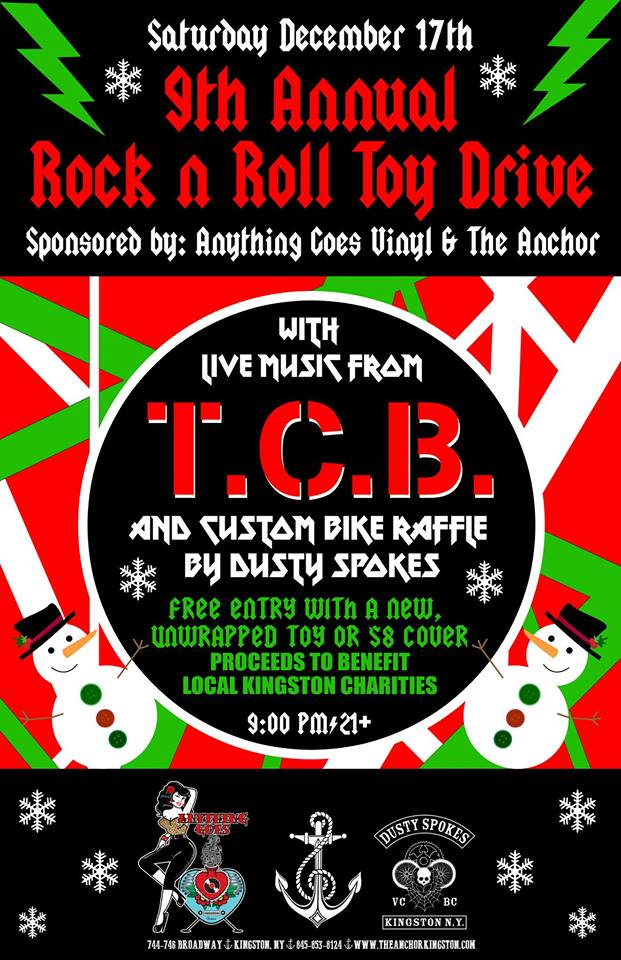 9th Annual Rock Amp Roll Toy Drive At The Anchor In Kingston